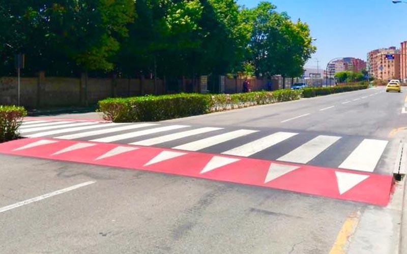 Nuevo paso de peatones en Lobete, compromiso cumplido