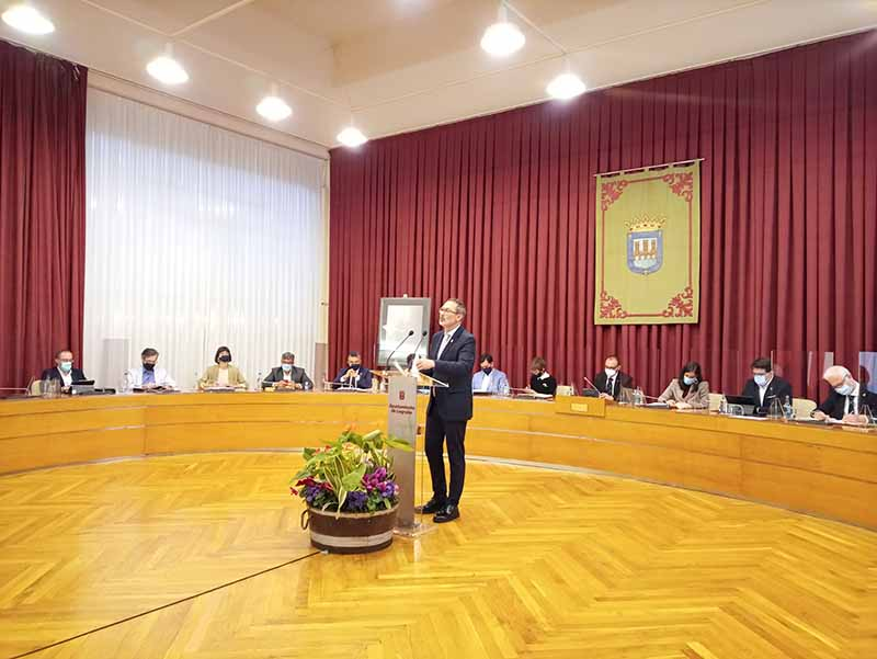 Discurso de Rubén Antoñanzas en el Debate del Estado de la Ciudad